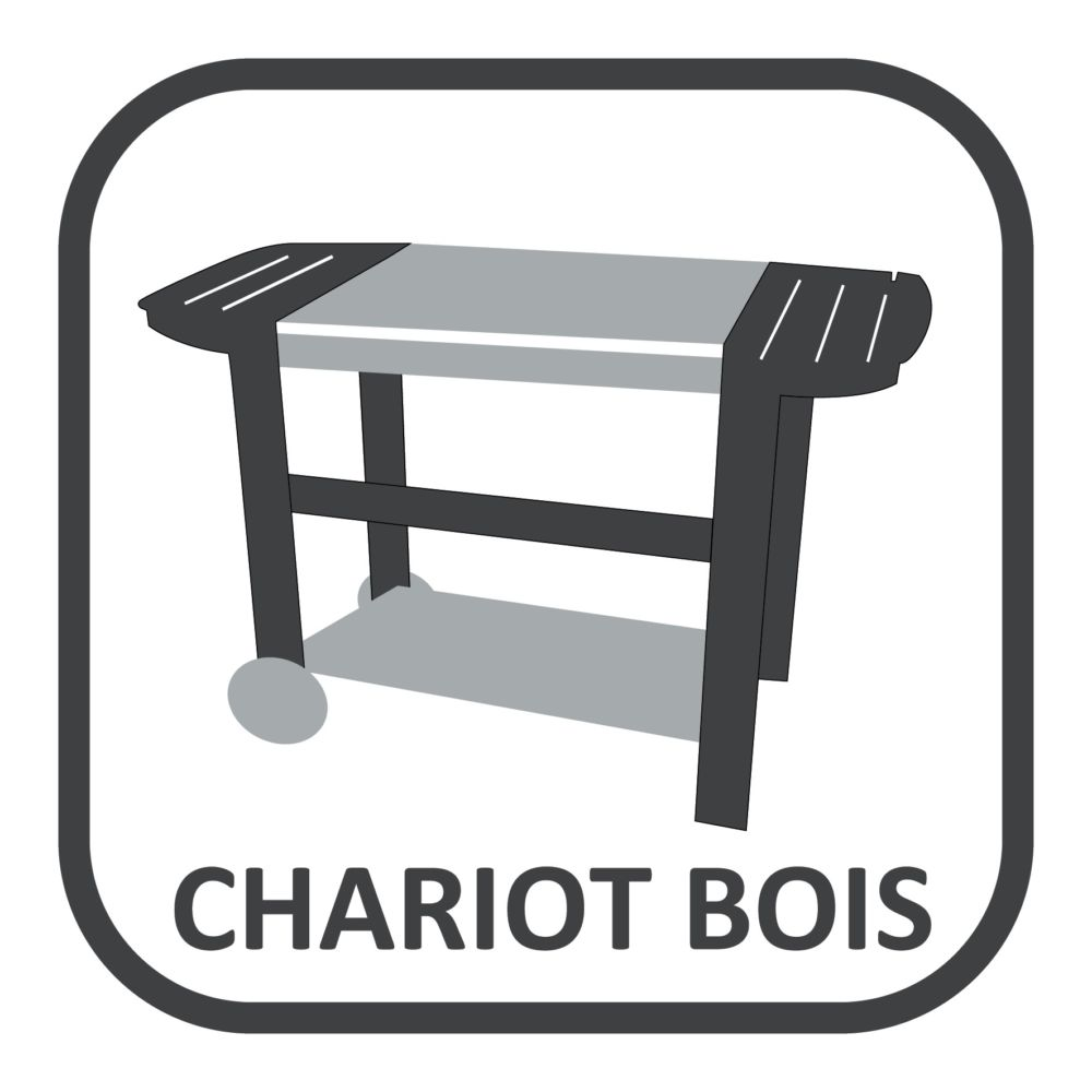 plancha gaz somagic oloron 2 br leurs sur chariot. Black Bedroom Furniture Sets. Home Design Ideas