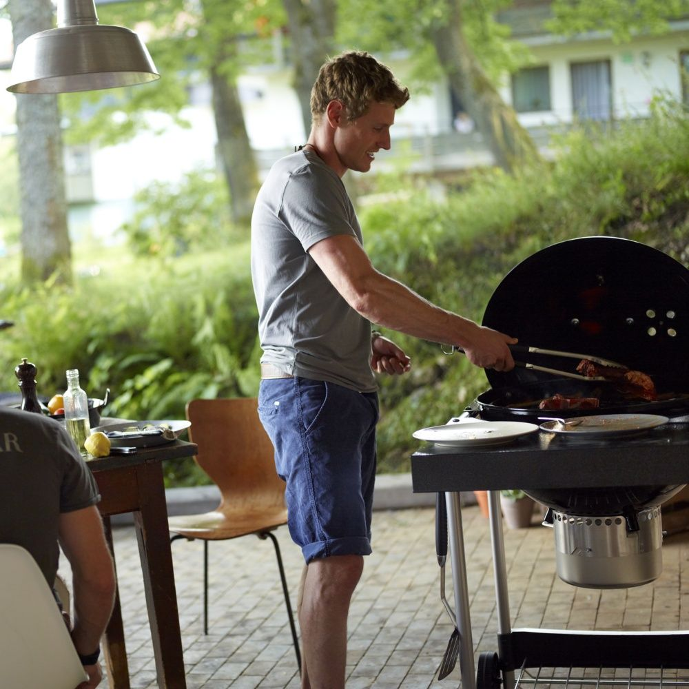 Barbecue charbon weber performer original 57 cm noir for Forum barbecue weber charbon