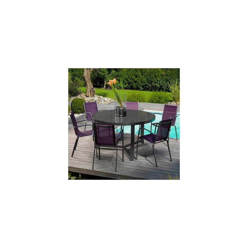 Table salon de jardin gamm vert for Leclerc mobilier jardin catalogue