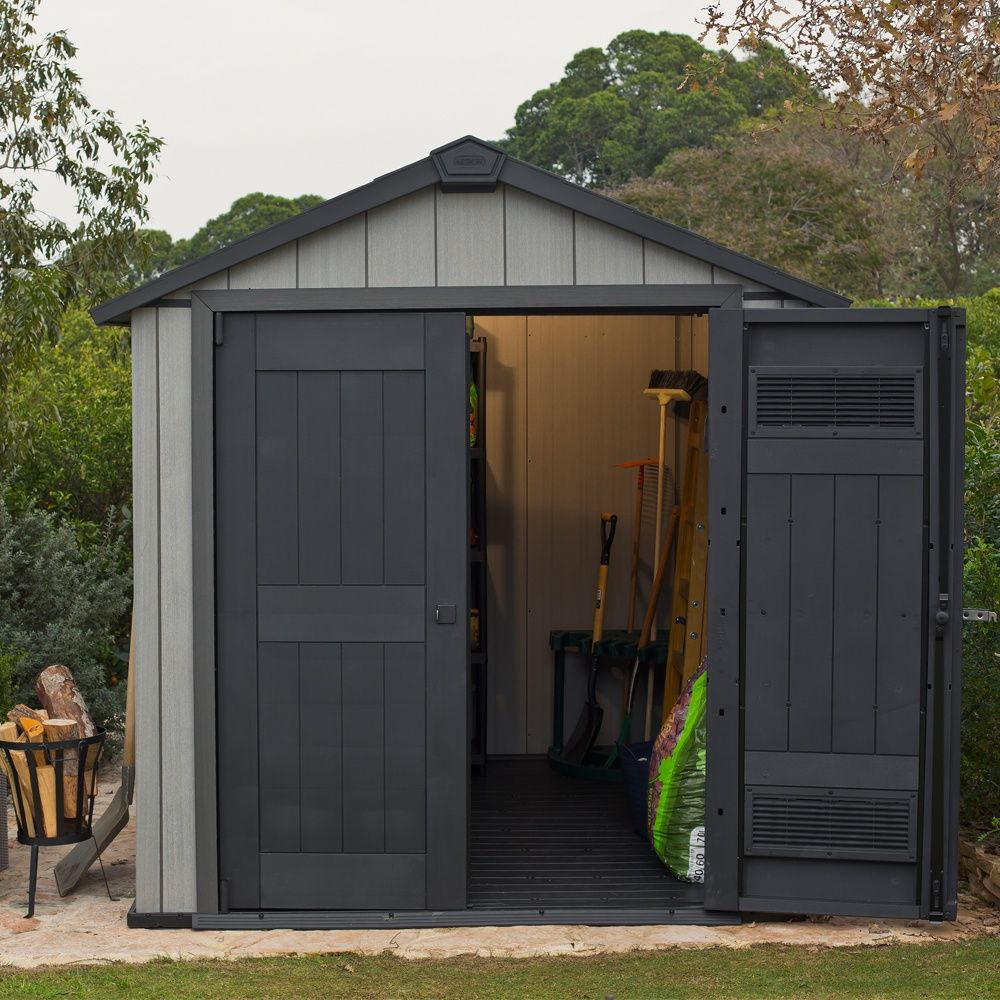 abri de jardin r sine keter m ep 20 mm brossium plantes et jardins. Black Bedroom Furniture Sets. Home Design Ideas