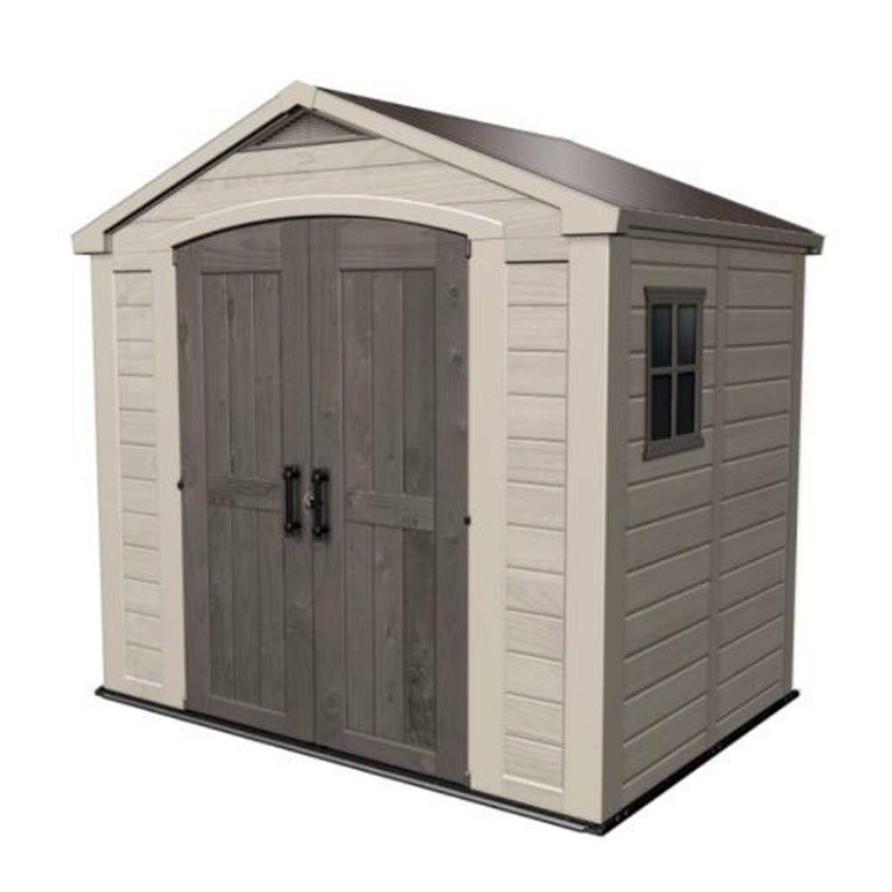 abri de jardin en r sine keter factor 88 m ep 16 mm. Black Bedroom Furniture Sets. Home Design Ideas