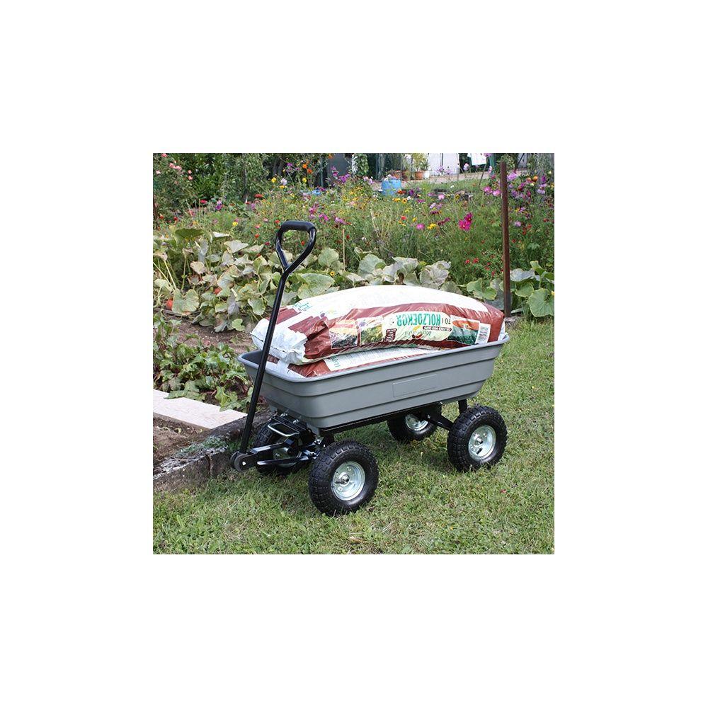 Chariot de jardin 4 x 4 garden haemmerlin plantes et for Chariot de jardin 4 roues