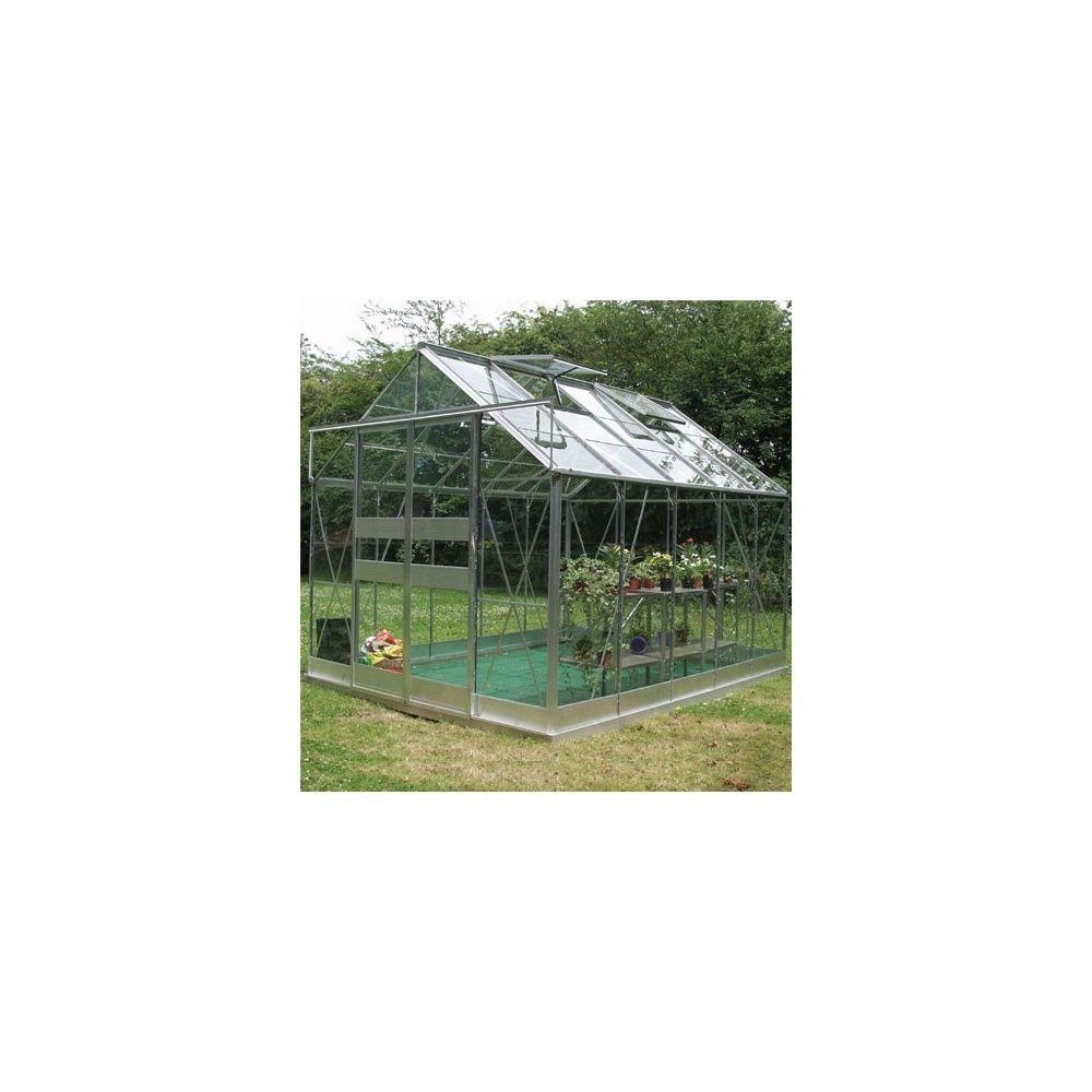 serre de jardin highline en verre tremp et alu naturel 9. Black Bedroom Furniture Sets. Home Design Ideas