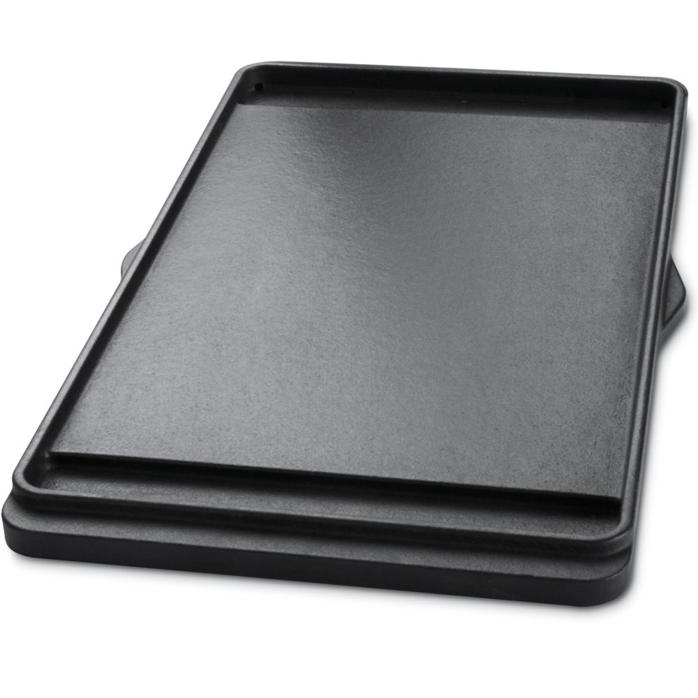 plancha weber en fonte pour barbecue spirit original e210. Black Bedroom Furniture Sets. Home Design Ideas