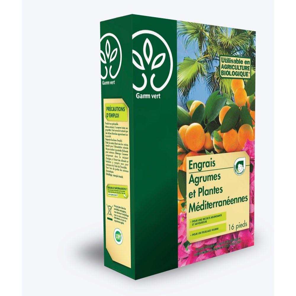 engrais agrumes et plantes méditerranéennes 1l - gamm vert