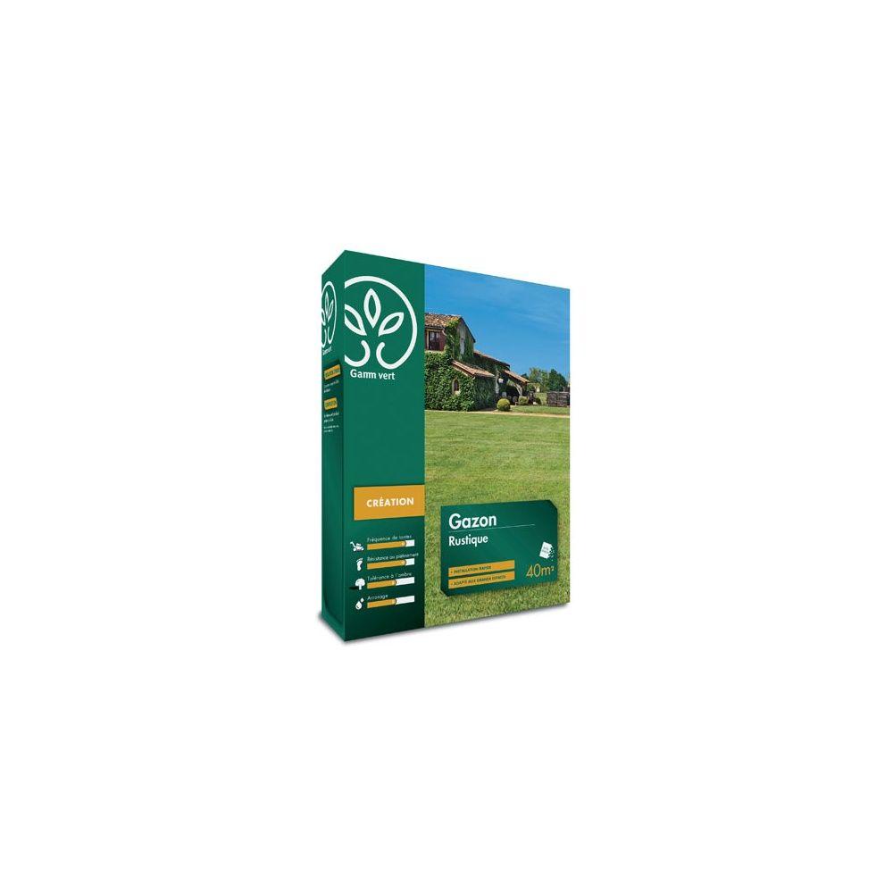 Gazon Artificiel Gamm Vert Of Gazon Rustique 1 Kg Gamm Vert Plantes Et Jardins