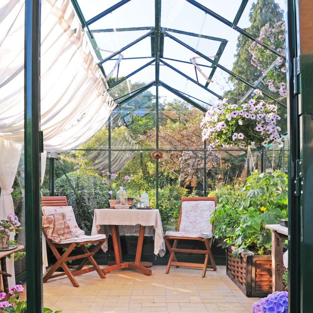 Serre de jardin compact plus polycarbonate for Plantes et jardins serres