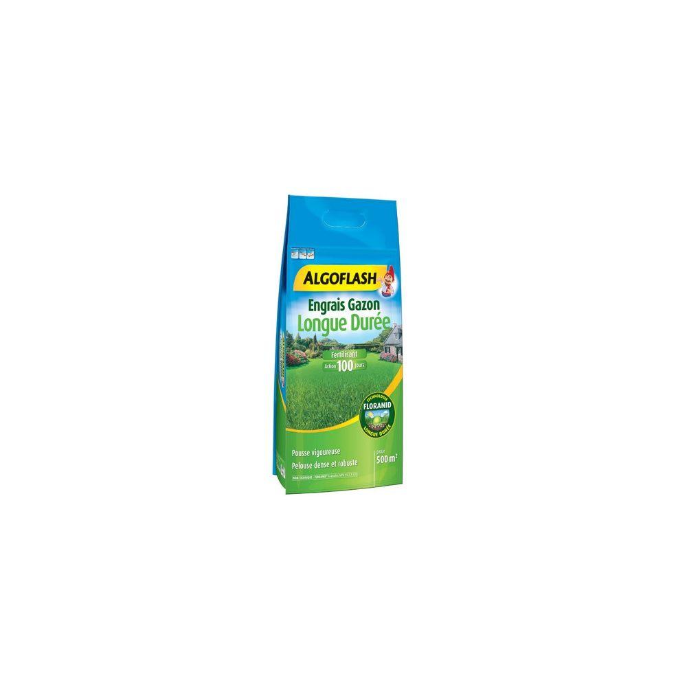 Engrais gazon longue dur e 15 kg algoflash plantes et jardins - Engrais gazon printemps ...