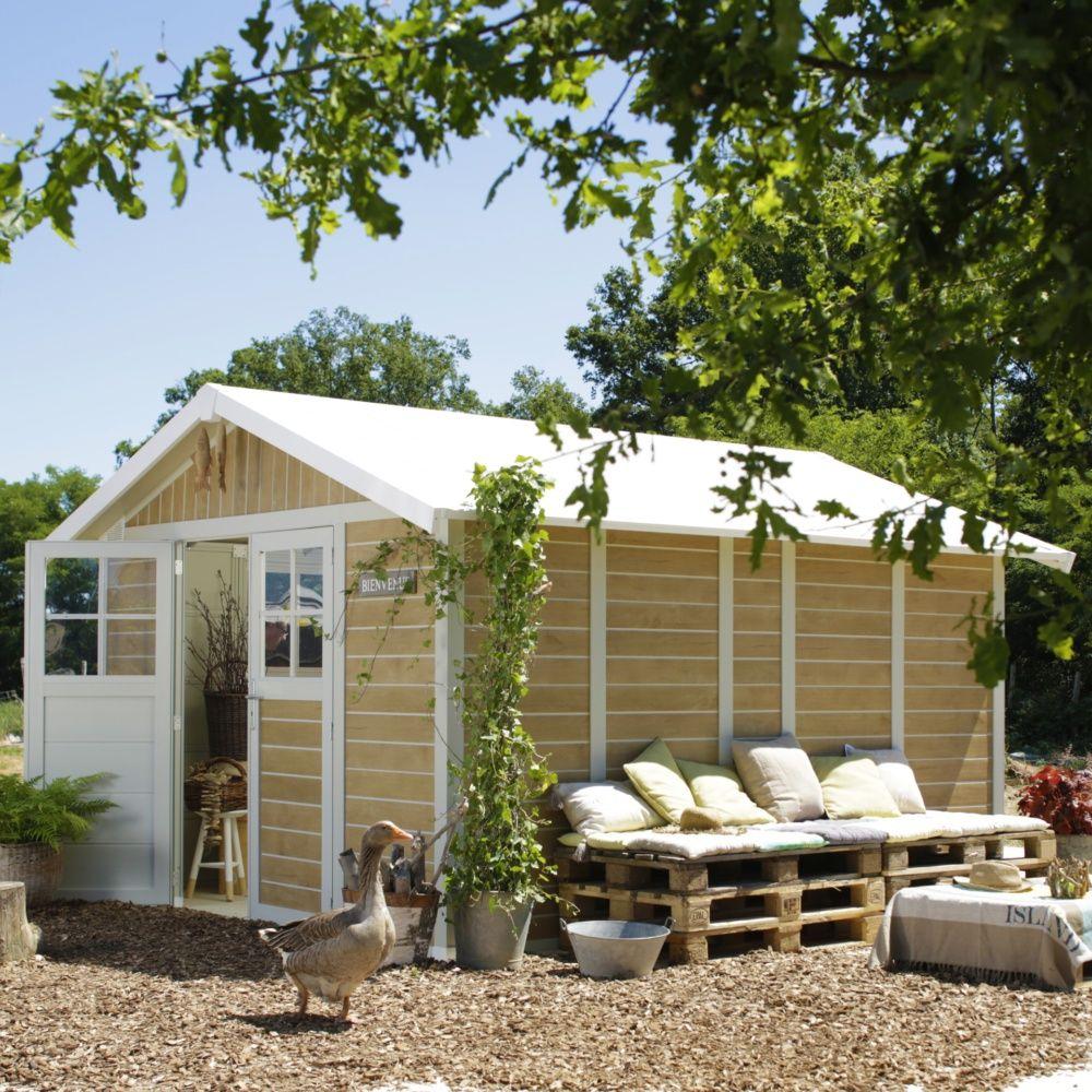abri de jardin r sine grosfillex m ep 26 mm sherwood plantes et jardins. Black Bedroom Furniture Sets. Home Design Ideas