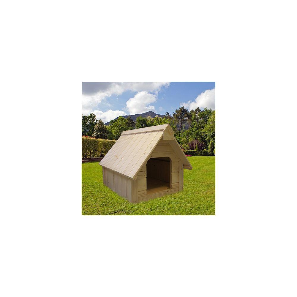 niche en bois pour grand chien p113 5 h95 cm plantes et jardins. Black Bedroom Furniture Sets. Home Design Ideas