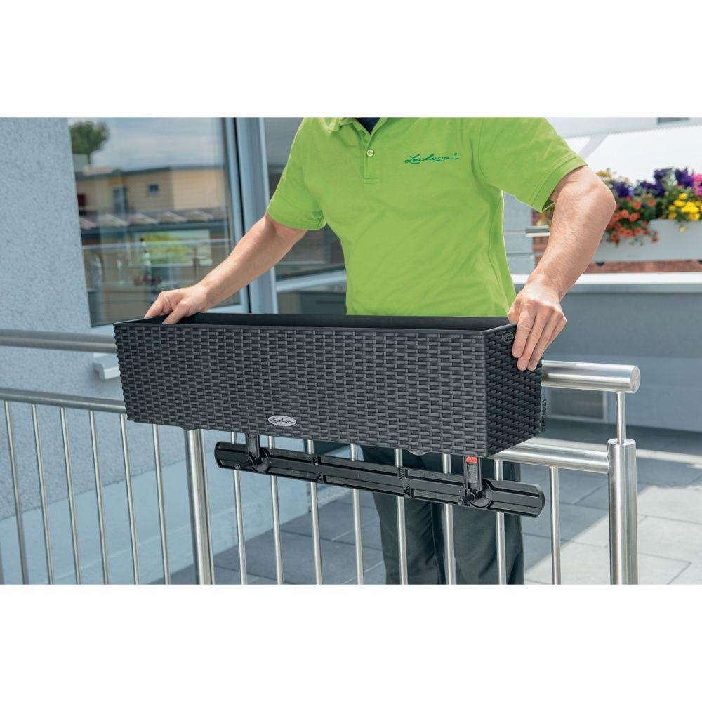 Support balconni re stabilisateur lechuza noir plantes for Balconniere hiver