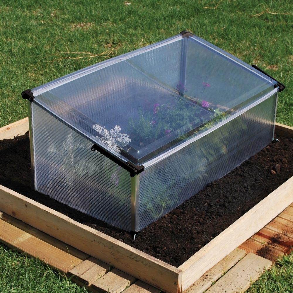 Serre ch ssis polycarbonate palram plantes et - Chassis de jardin en polycarbonate ...