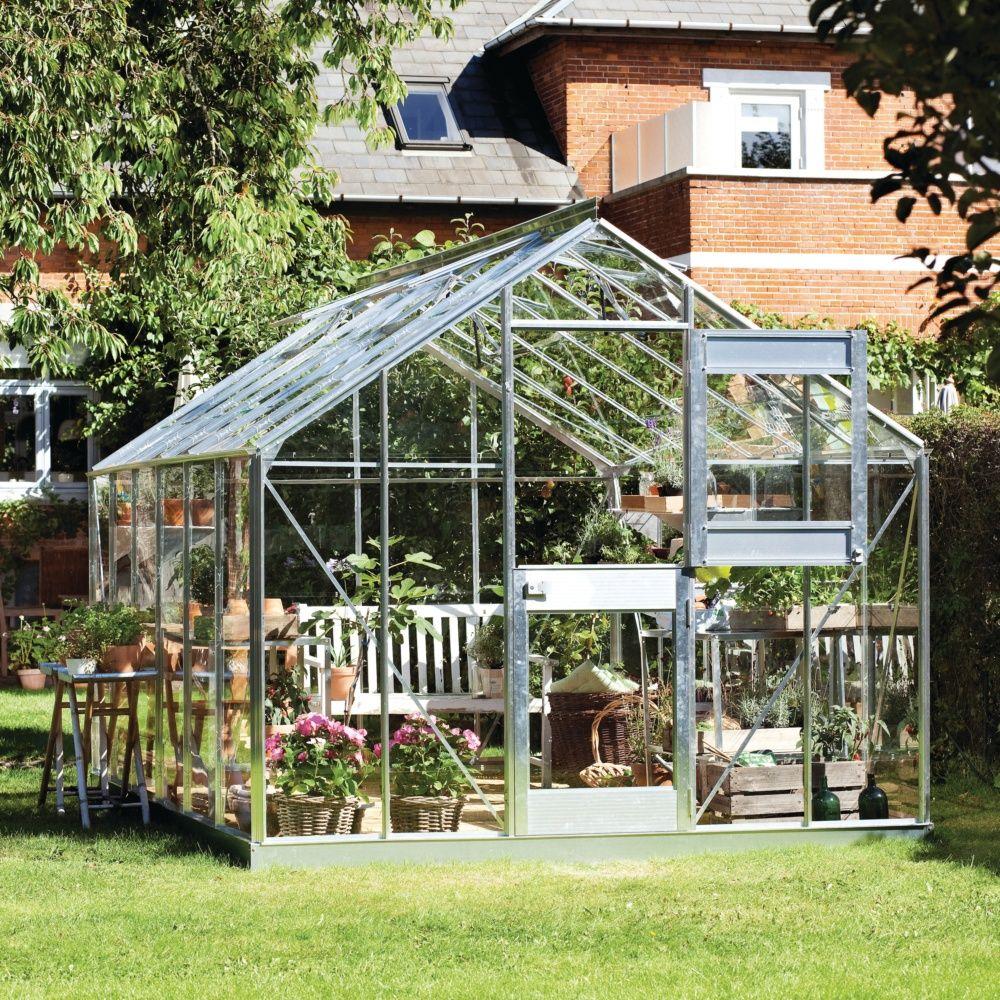 serre de jardin compact plus verre horticole 12 1 m embase juliana plantes et jardins. Black Bedroom Furniture Sets. Home Design Ideas