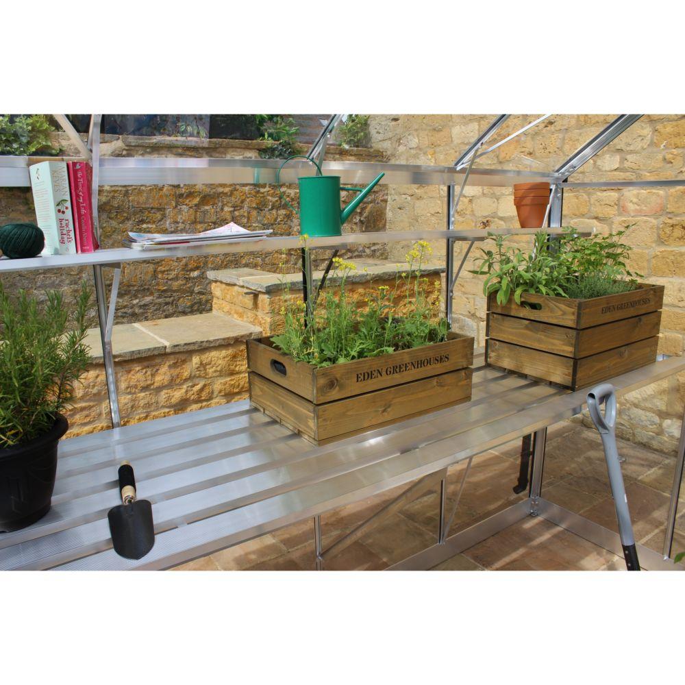 serre de jardin birdlip polycarbonate kit accessoires embase eden plantes et jardins. Black Bedroom Furniture Sets. Home Design Ideas