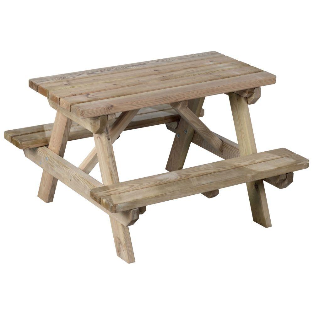 table pour enfant 90 x 89 x 56 cm plantes et jardins. Black Bedroom Furniture Sets. Home Design Ideas