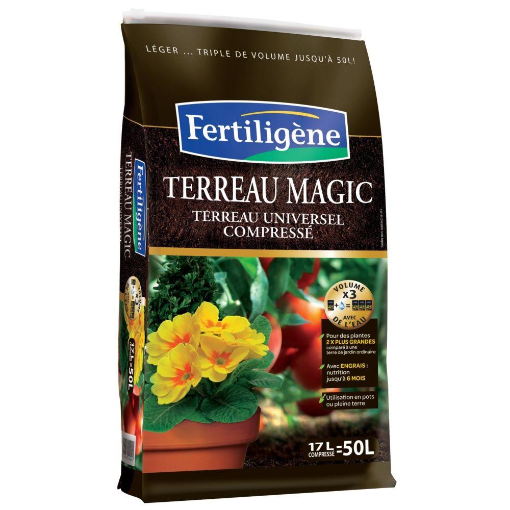 terreau magic 17 l fertiligene plantes et jardins. Black Bedroom Furniture Sets. Home Design Ideas