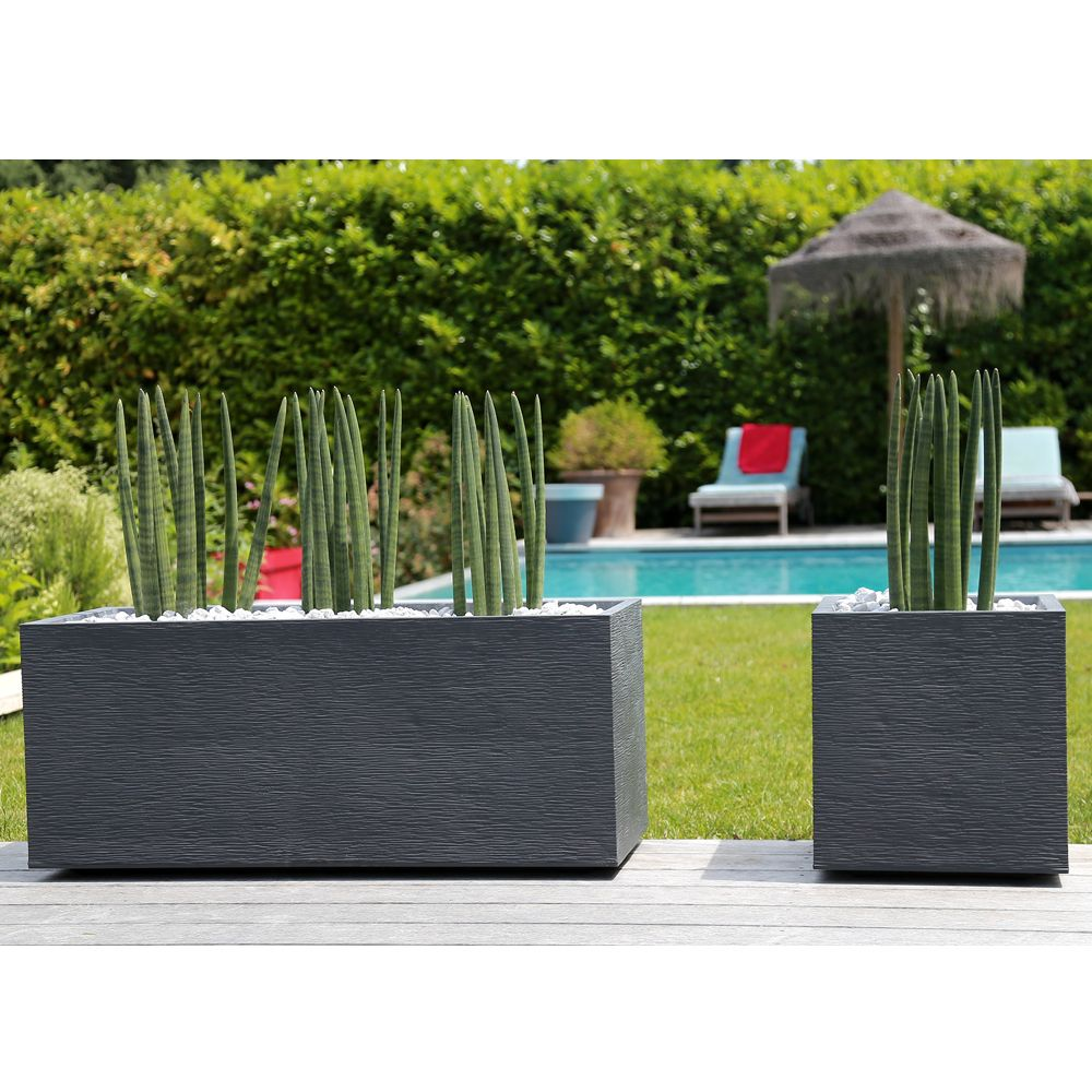 jardini re graphit r sine l99 5 h43 cm anthracite