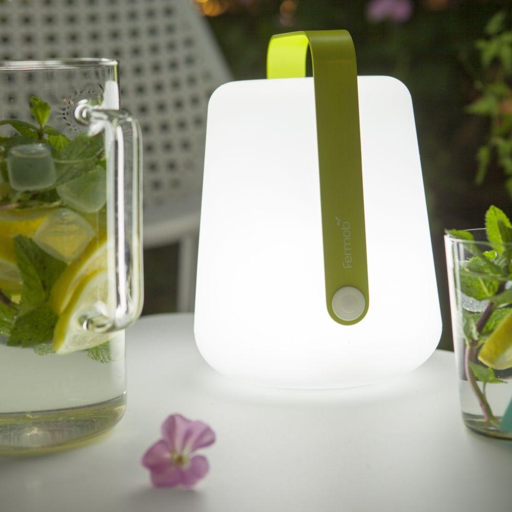 lampe fermob balad sans fil h25 cm gris orage plantes et jardins. Black Bedroom Furniture Sets. Home Design Ideas