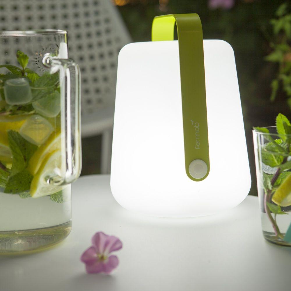 lampe fermob balad sans fil h25 cm verveine plantes et jardins. Black Bedroom Furniture Sets. Home Design Ideas