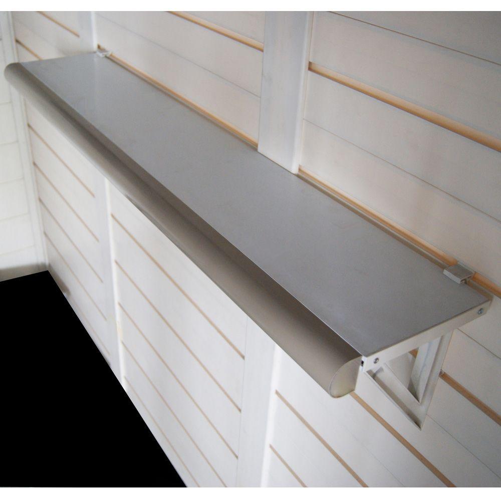 kit de 2 tag res murales pour abris r sine evo plantes. Black Bedroom Furniture Sets. Home Design Ideas