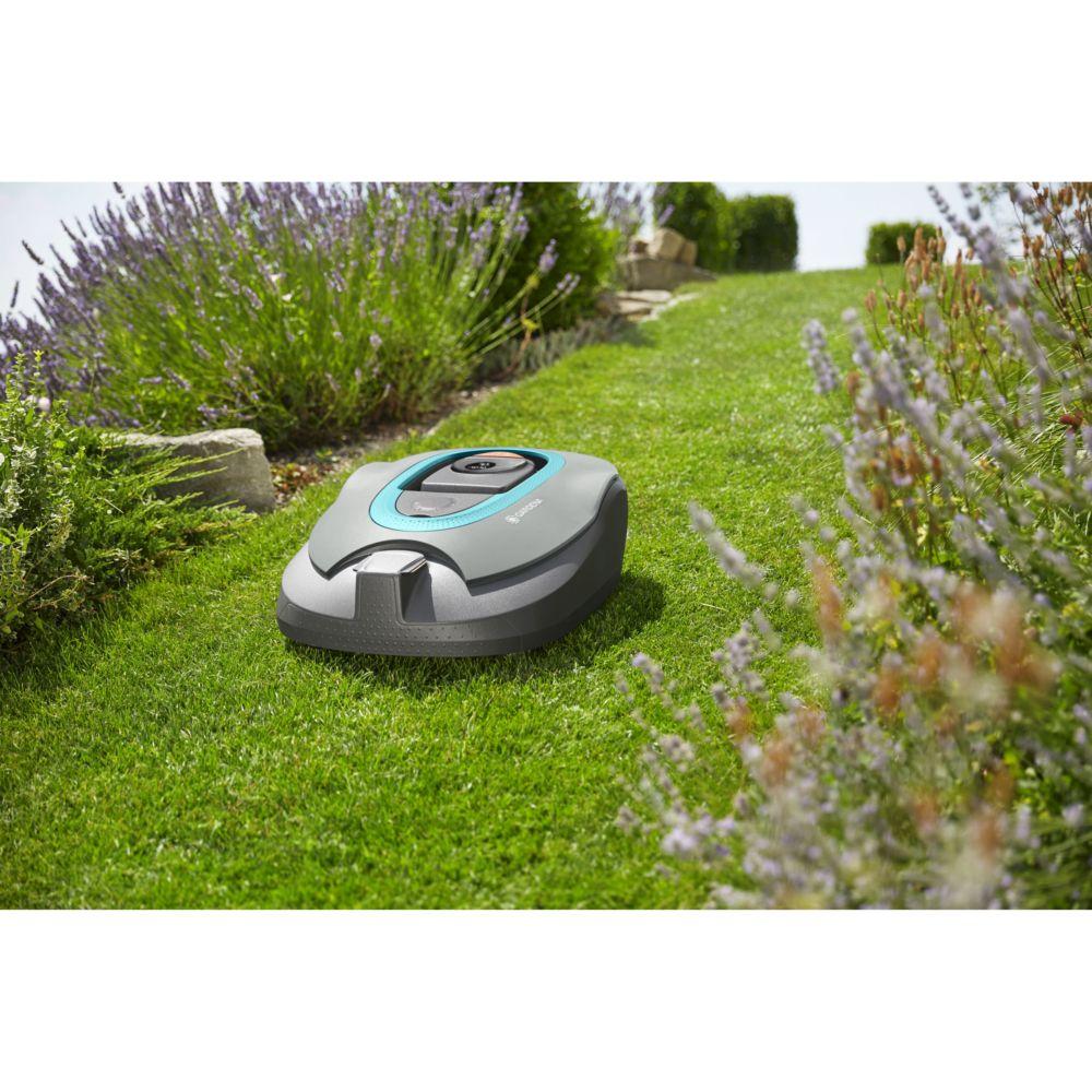robot tondeuse sileno gardena plantes et jardins. Black Bedroom Furniture Sets. Home Design Ideas