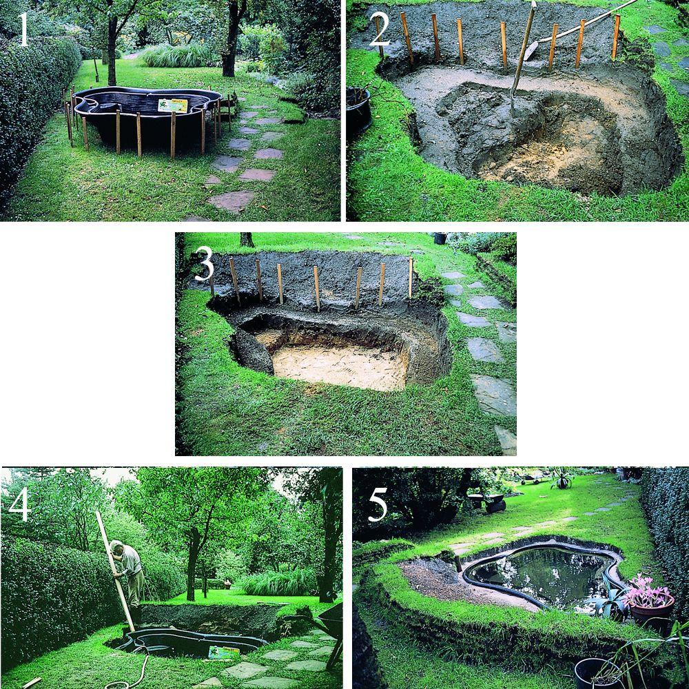 bassin de jardin 2000l
