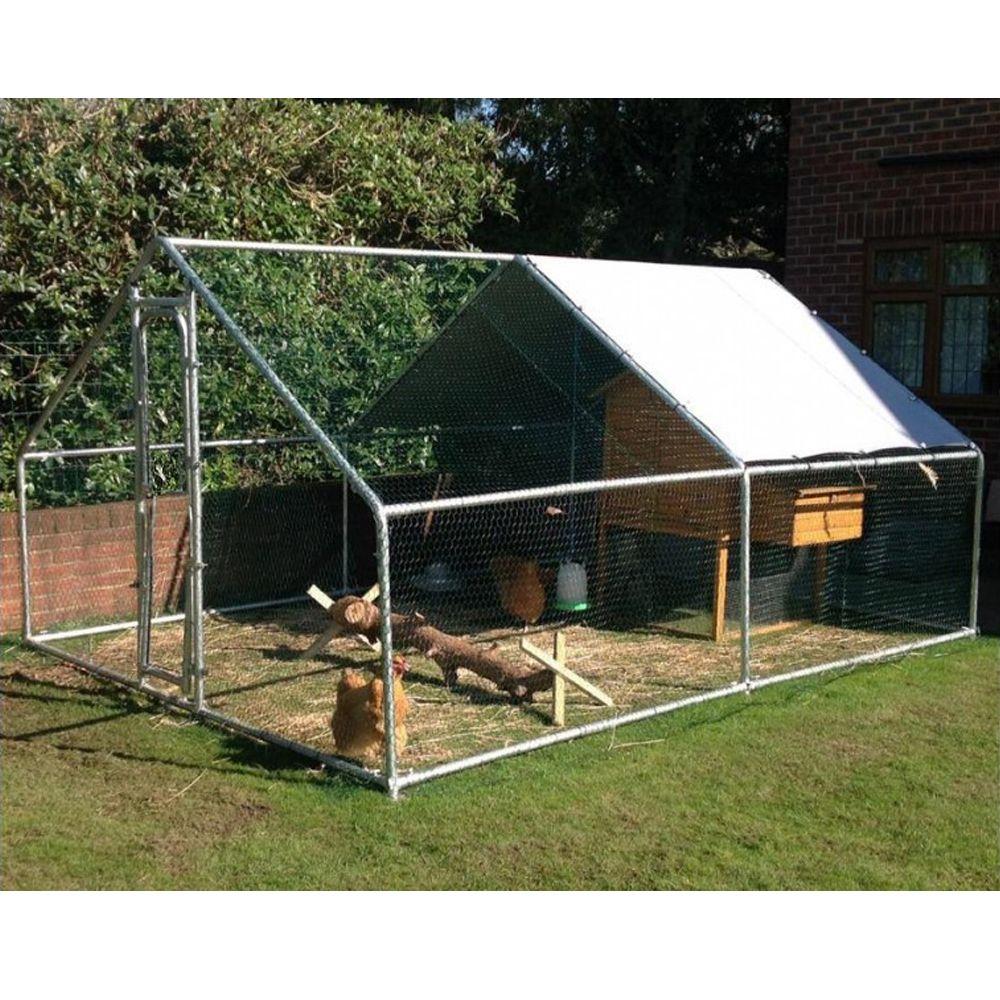 enclos pour poules 12 m plantes et jardins. Black Bedroom Furniture Sets. Home Design Ideas
