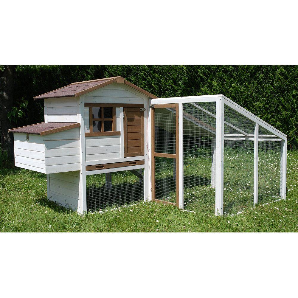 poulailler nevada avec extension 4 5 poules plantes et jardins. Black Bedroom Furniture Sets. Home Design Ideas