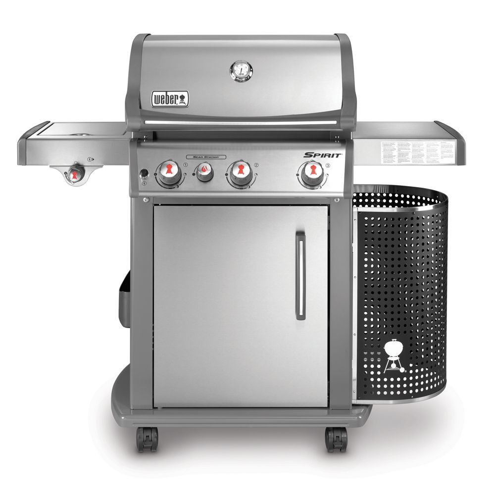 barbecue gaz weber spirit premium s330 inox plantes et. Black Bedroom Furniture Sets. Home Design Ideas