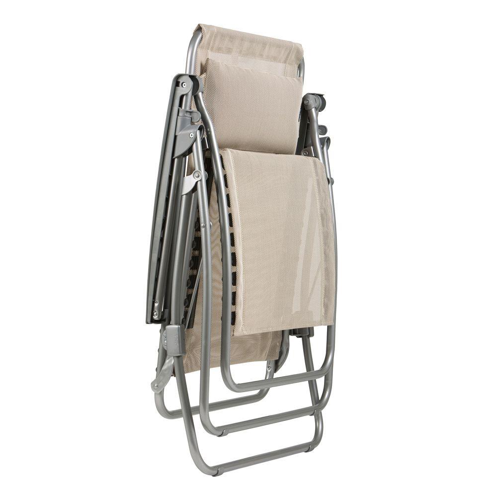 fauteuil relax lafuma r clip seigle plantes et jardins. Black Bedroom Furniture Sets. Home Design Ideas