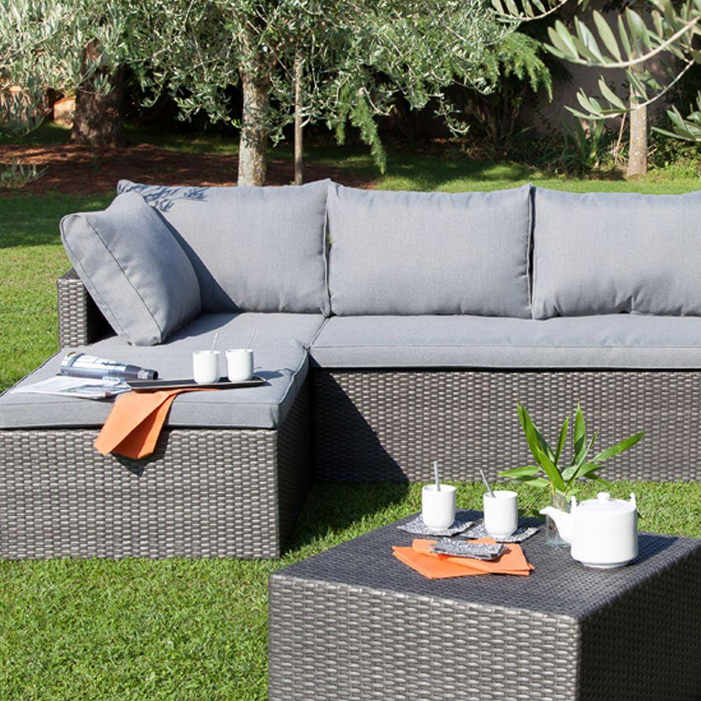 salon de jardin bas mod na fauteuil canap m ridienne table basse plantes et jardins. Black Bedroom Furniture Sets. Home Design Ideas