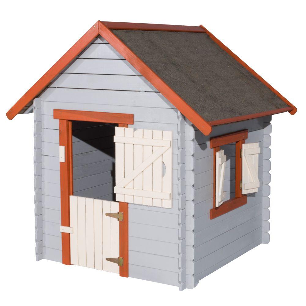 cabane enfant leroy merlin perfect good cabane en bois. Black Bedroom Furniture Sets. Home Design Ideas