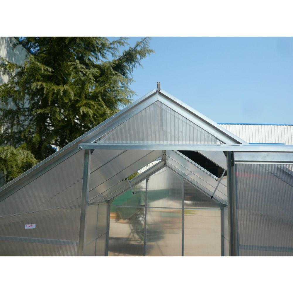 Serre polycarbonate m habrita plantes et jardins - Serre polycarbonate 9m2 ...