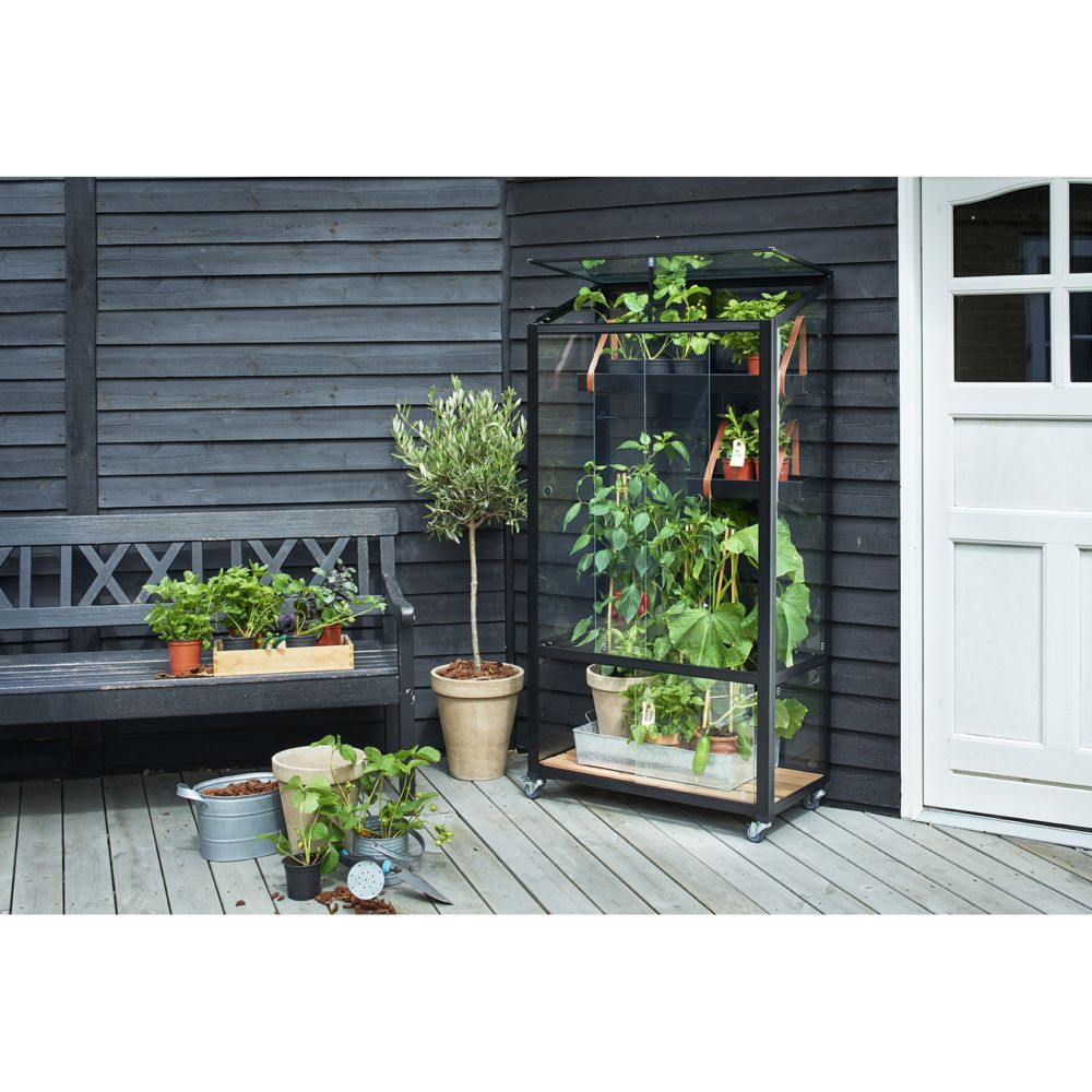 Serre de balcon city m juliana plantes et jardins for Plantes et jardins serres