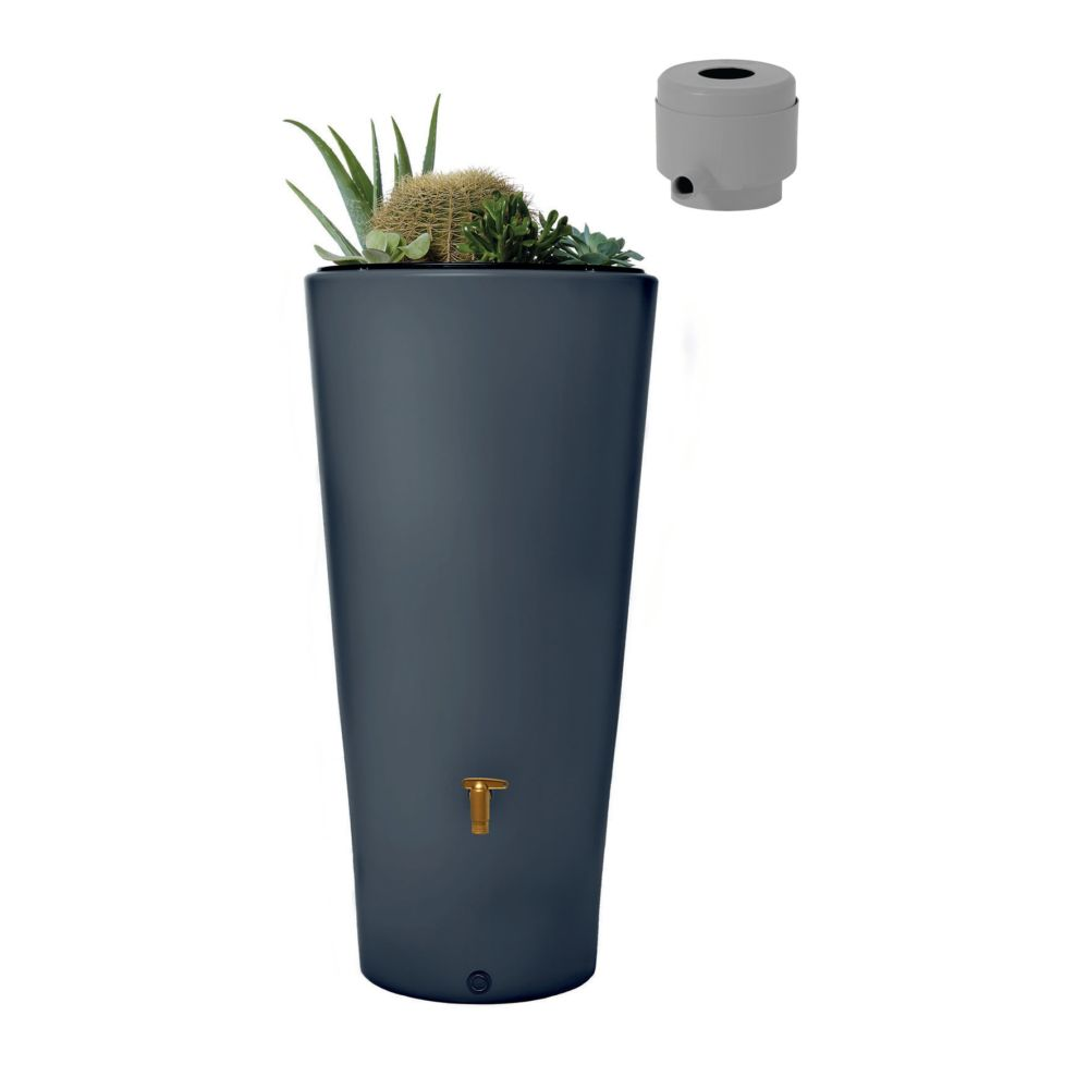 r cup rateur d 39 eau r servoir vaso 2en1 220 l graphite garantia plantes et jardins. Black Bedroom Furniture Sets. Home Design Ideas