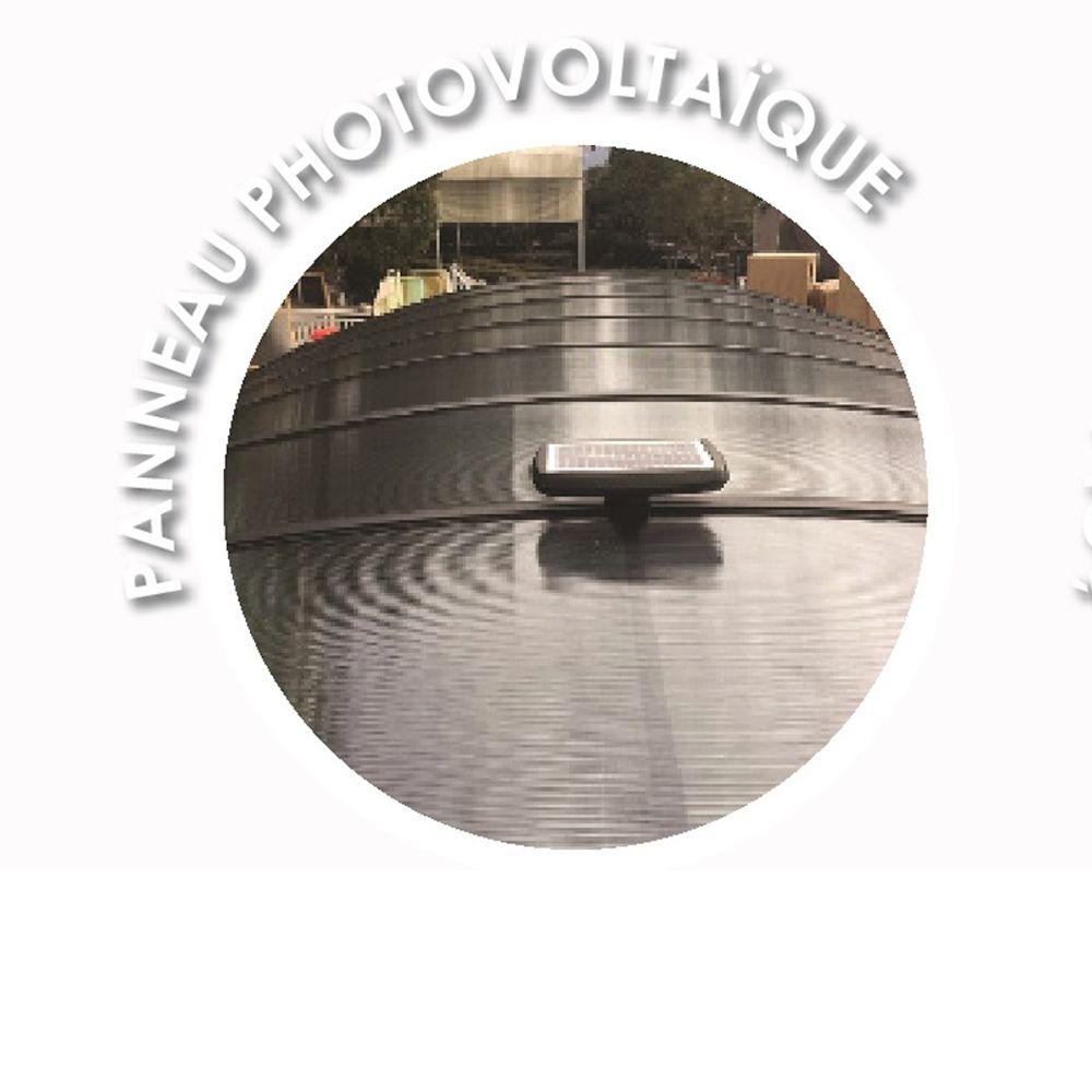 Awesome Eclairage Jardin Autonome Contemporary - Design Trends 2017 ...