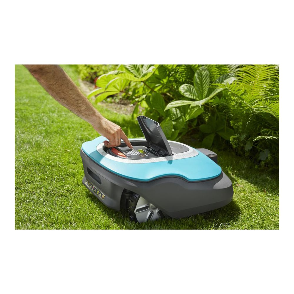 robot tondeuse smart sileno gardena plantes et jardins. Black Bedroom Furniture Sets. Home Design Ideas