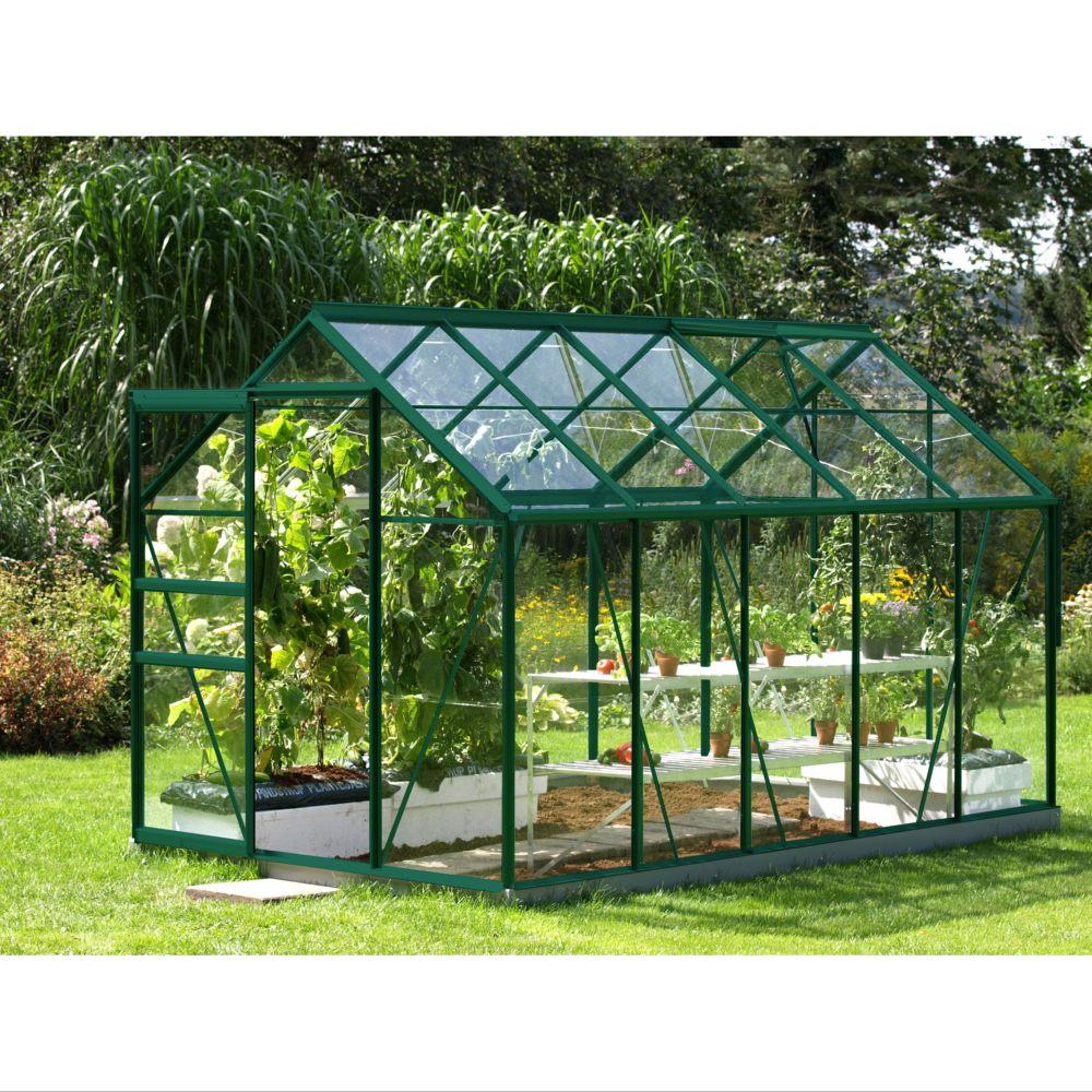 serre venus en verre tremp m vert lams plantes et jardins. Black Bedroom Furniture Sets. Home Design Ideas