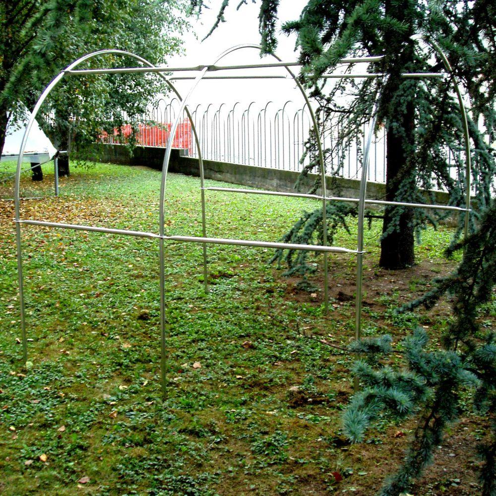 Mini serre tunnel gaia m plantes et jardins for Plantes et jardins serres
