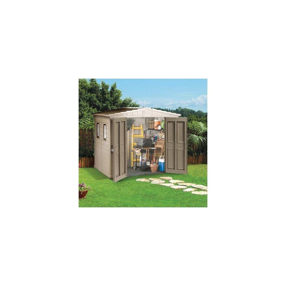 abri de jardin en r sine millenium 86 4 60m keter plantes et jardins. Black Bedroom Furniture Sets. Home Design Ideas