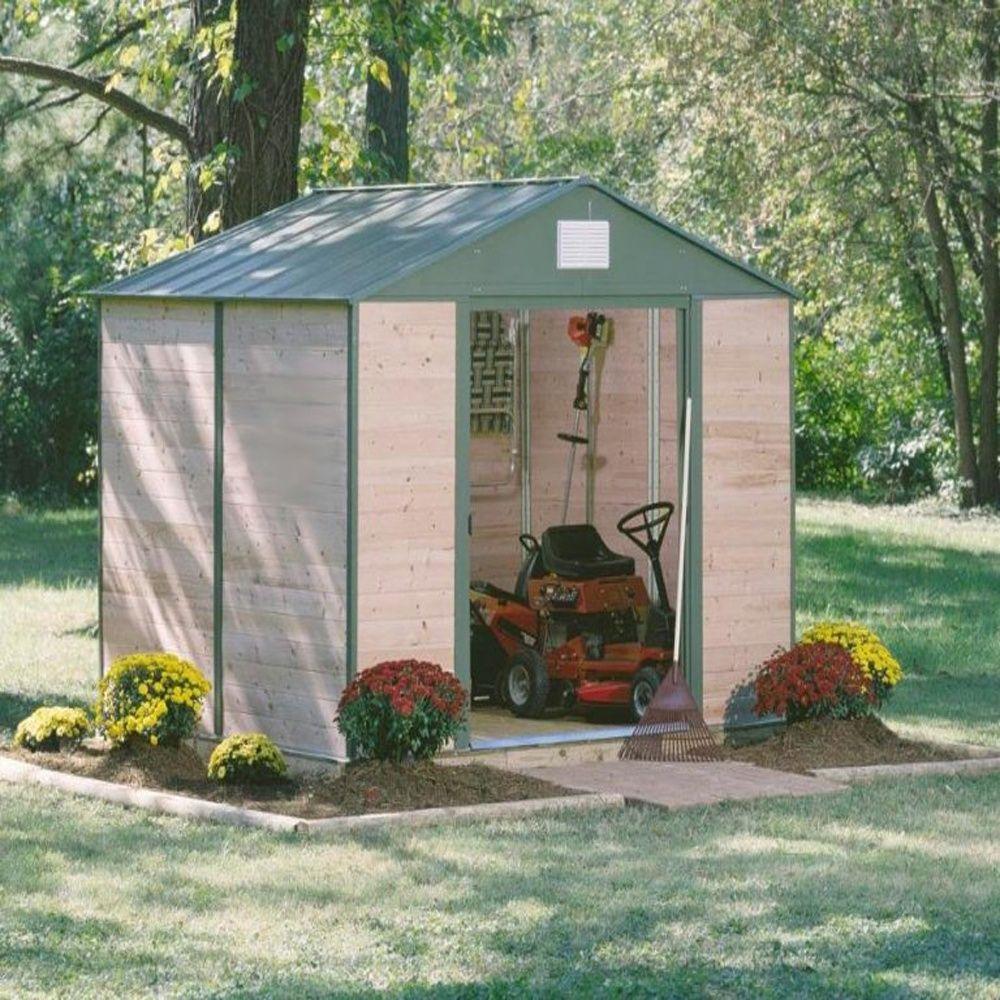 Abri de jardin c dre et acier 7 60 m ep 12 mm plantes for Abri de jardin acier